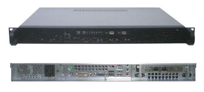 Rack 19inch 1U 483x250x44mm for open source firewall